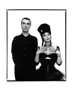 Singer/songwriter David Byrne & dancer/choreographer Toni Basil, signed by Jack