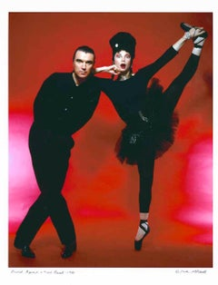 Singer/songwriter David Byrne & dancer/choreographer Toni Basil, signed by Jack