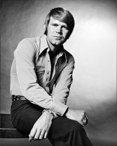 Singer, songwriter & guitarist Glen Campbell, signed by Jack Mitchell