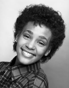 Singer Whitney Houston when she was a senior in high school, first photo session