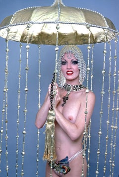 Studio Nude from Kicks Topless Revue starring Linda Bardot at the Rainbow Room