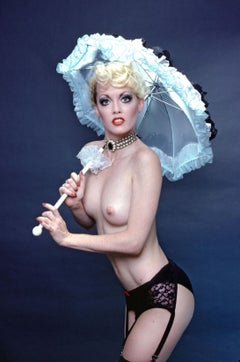 Studio Nude from Kicks Topless Revue starring Linda Bardot at the Rainbow Room
