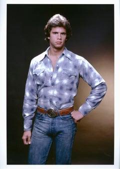 Studio Portrait of 21-year-old American actor Lorenzo Lamas