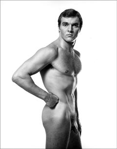 Swimmer/Athlete George Krasowski, Photographed Nude for After Dark Magazine