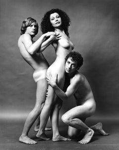 Ultra Violet & friends, nude for After Dark magazine signed by Jack Mitchell