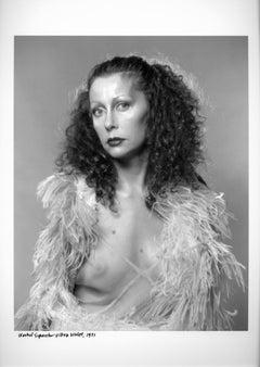 Warhol Superstar & artist Ultra Violet, real name Isabelle Collin Dufresne