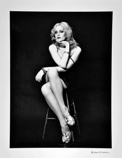 Warhol Superstar Candy Darling, After Dark Cover Shot, Signed