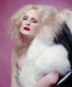 Warhol Superstar Candy Darling star of 'Vain Victory', Color 17 x 22""