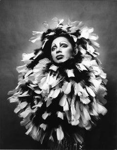 Warhol Superstar Holly Woodlawn star of 'Trash' portrait for After Dark Magazine