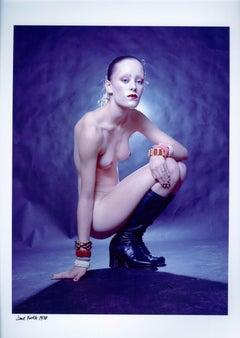 Warhol Superstar Jane Forth photographed nude for Vogue magazine