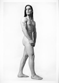 Warhol Superstar Joe Dallesandro, full length nude