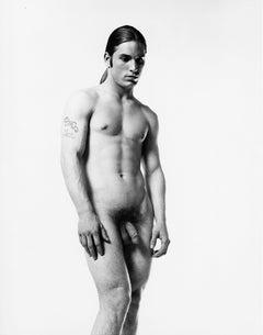 Warhol Superstar Joe Dallesandro, nude for After Dark magazine