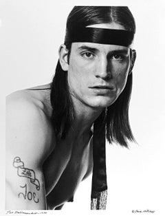Warhol Superstar Joe Dallesandro portrait for After Dark signed by Jack Mitchell