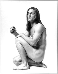 "Warhol Superstar Joe Dallesandro star of ""Trash"", nude for 'After Dark' magazine"