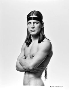 "Warhol Superstar Joe Dallesandro star of ""Trash"" photographed by Jack Mitchell"