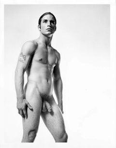 "Warhol Superstar Joe Dallesandro star of ""Trash"" signed by Jack Mitchell"