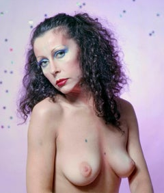 Warhol superstar Ultra Violet (Isabelle Collin Dufresne) photographed nude