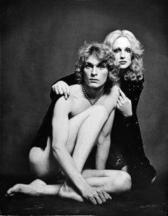 Warhol Superstars Candy Darling & Dorian Gray (nude), signed by Jack Mitchell
