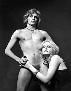 Warhol Superstars Candy Darling & Dorian Gray nude, signed by Jack Mitchell