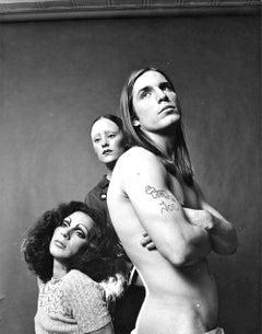 "Warhol Superstars Holly Woodlawn, Jane Forth, Joe Dallesandro stars of ""Trash"""