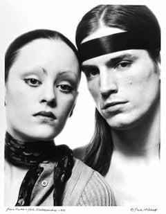 Warhol Superstars Jane Forth, Joe Dallesandro signed by Jack Mitchell