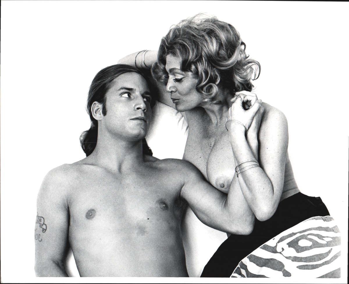 Warhol Superstars Joe Dallesandro & Sylvia Miles in 'Heat' nude for 'After Dark'