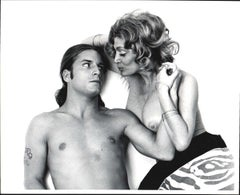 Warhol Superstars Joe Dallesandro & Sylvia Miles in 'Heat' nude for 'After Dark'