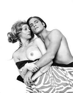 Warhol 'Heat' Superstars Sylvia Miles & Joe Dallesandro, nude for After Dark
