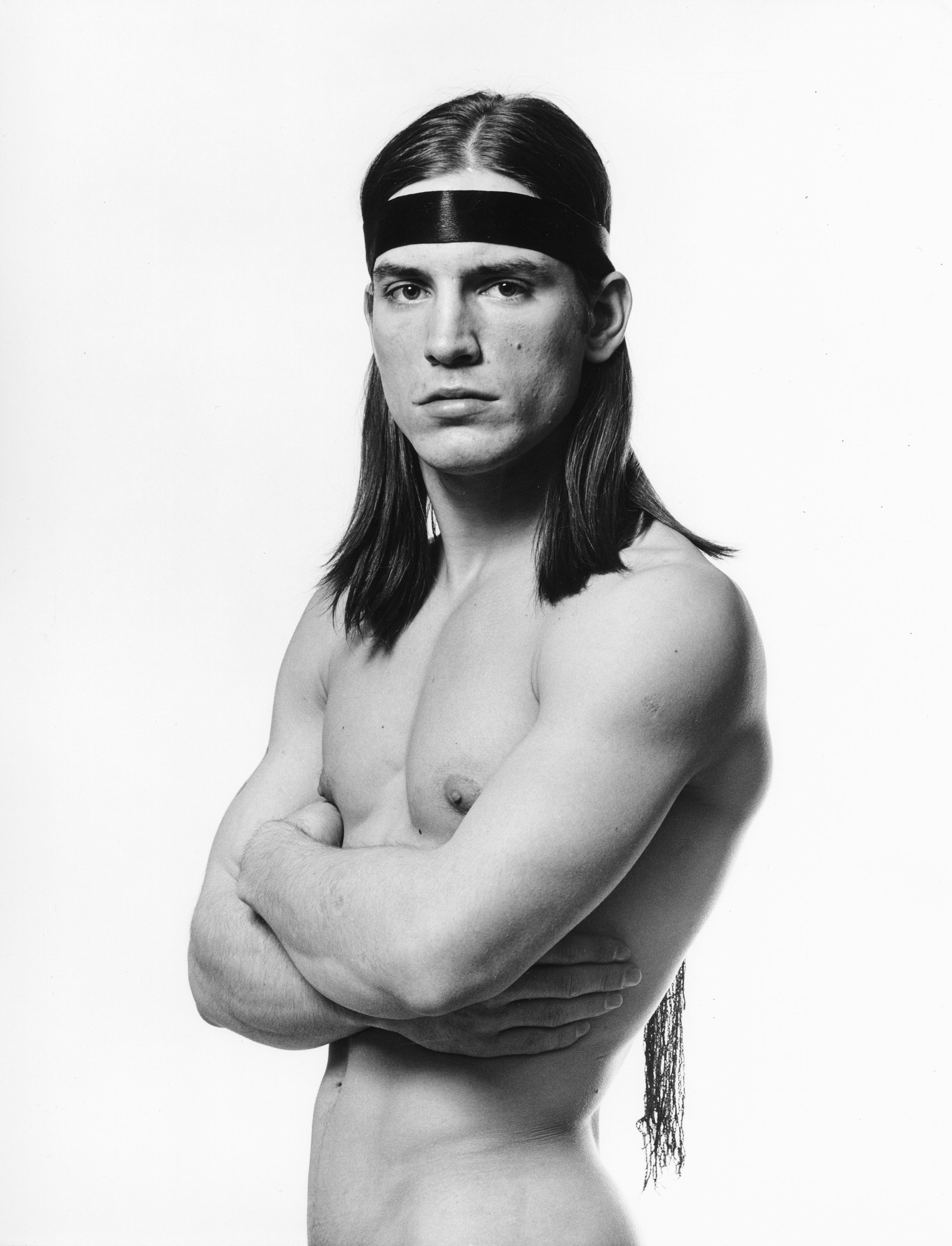 Warhol 'Trash' Superstar Joe Dallesandro, Iconic Movie Poster Photograph
