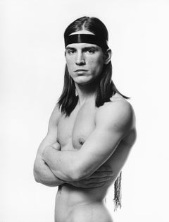 Warhol 'Trash' Superstar Joe Dallesandro, Iconic Movie Poster Photograph