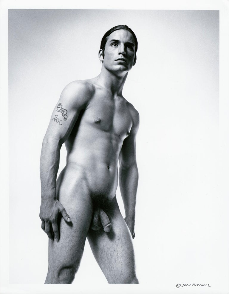 Jack Mitchell Nude Photograph - Warhol 'Trash' Superstar Joe Dallesandro nude for After Dark