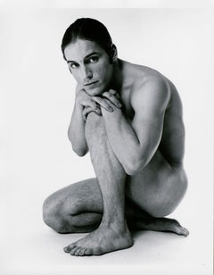 Warhol 'Trash' Superstar Joe Dallesandro nude for After Dark, signed by Mitchell