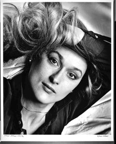 "Young Actress Meryl Streep 16x20"" Exhibition Print, Signed"