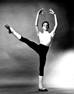 Young Dancer Fernando Bujones age 12, signed by Jack Mitchell