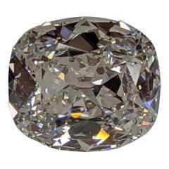Jack Reiss 6 Carat F VS Antique Cut Cushion Diamond and Ring Engagement /Upgrade