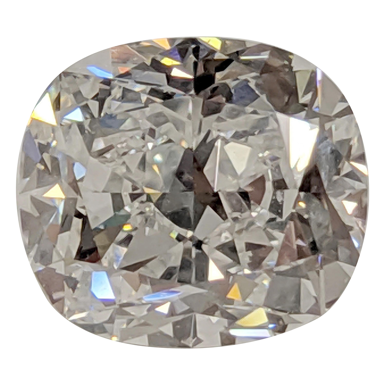 Jack Reiss 6 Carat Cushion Cut Diamond and Ring E, VS1 GIA Engagement, Upgrade