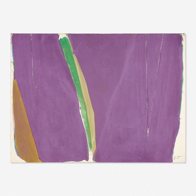 Jack Roth Abstract Painting - La Ligne Tremblante