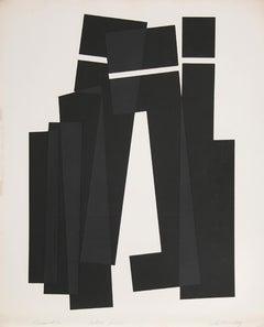 Perimeter, Minimalist Abstract Etching by Jack Sonenberg