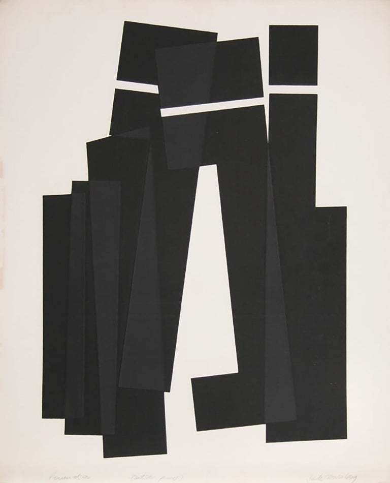 Artist: Jack Sonenberg, American/Canadian (1925 - ) Title: Perimeter Year: circa 1965 Medium: Etching with Aquatint, signed and numbered in pencil Edition: AP Size: 36  x 29.5 in. (91.44  x 74.93 cm)