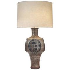 Jack Sures, Canadian Artisan Stoneware Glazed Lamp
