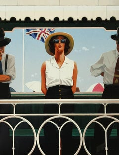 Jack Vettriano b.1951 - 2003 Limited Edition Signed Silkscreen, Bird on the Wire