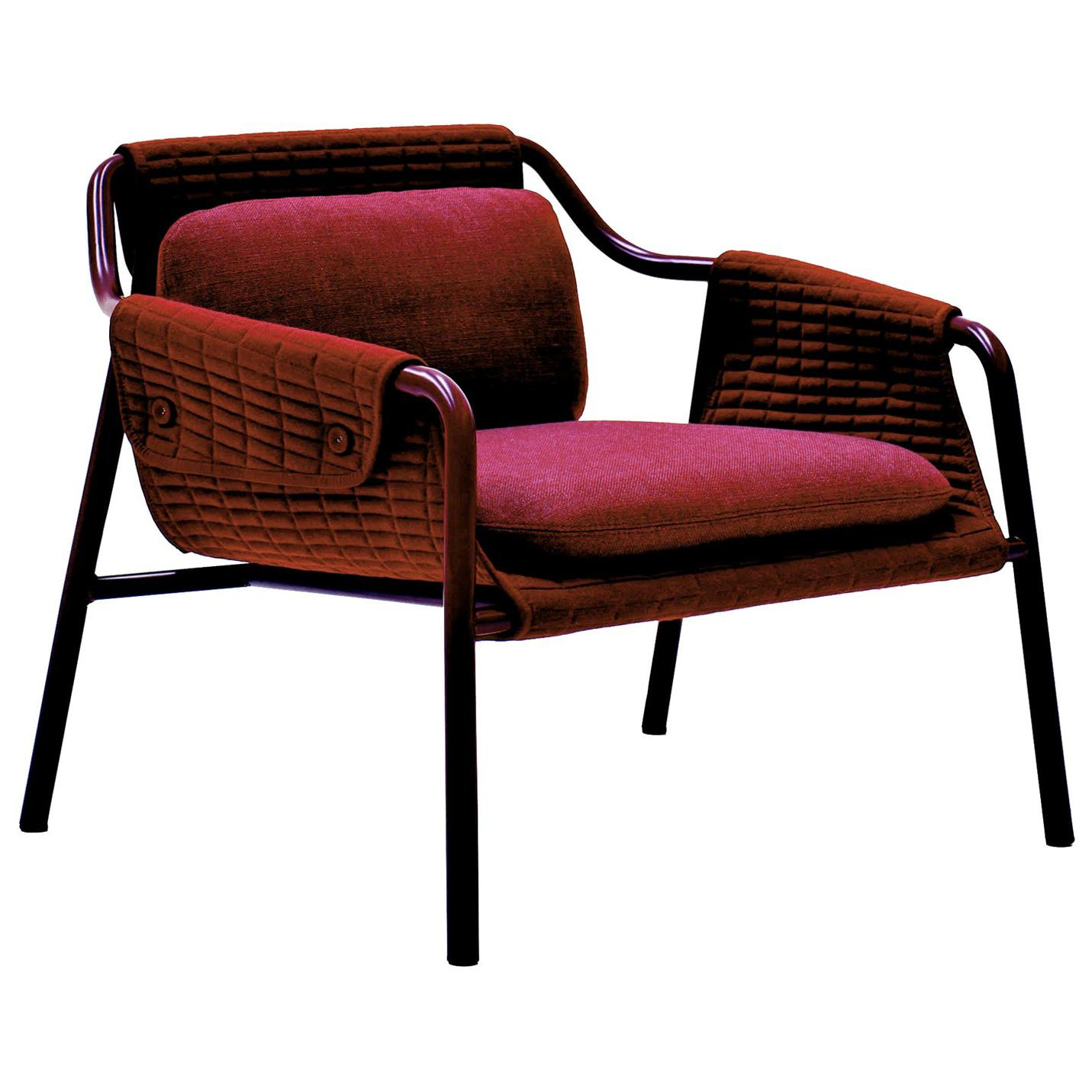 Jacket Red Armchair by Patrick Norguet