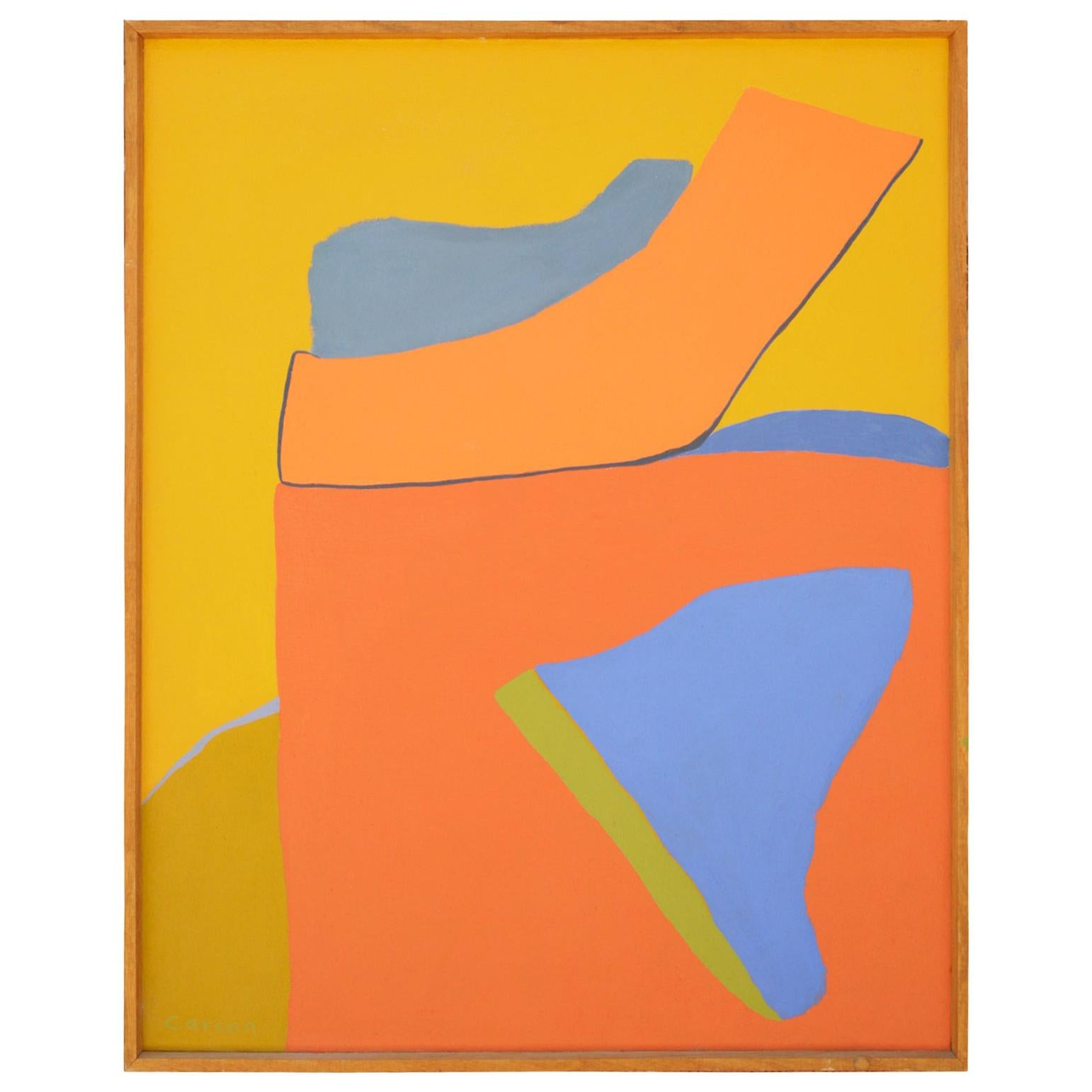 Jackie Carson Acrylic on Canvas Painting