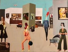 Cubist Interior Paintings