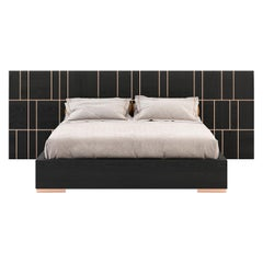 Jackson Bed, Portuguese 21st Century Contemporary Bed