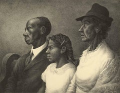 The Matthew W. Johnston Family (a Black family worshipping together)