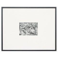 "Jackson Pollock Archive Photography ""The Key"" Painting, circa 1970"