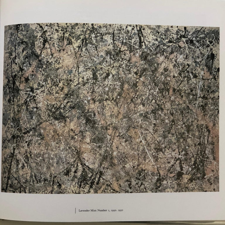 Jackson Pollock -Published by Abrams, 1989.  Beautifully illustrated with flip out pages this compelling book chronicles Pollock as a man and artist. From his early years in Wyoming through to the social and cultural milieu of New York, truly