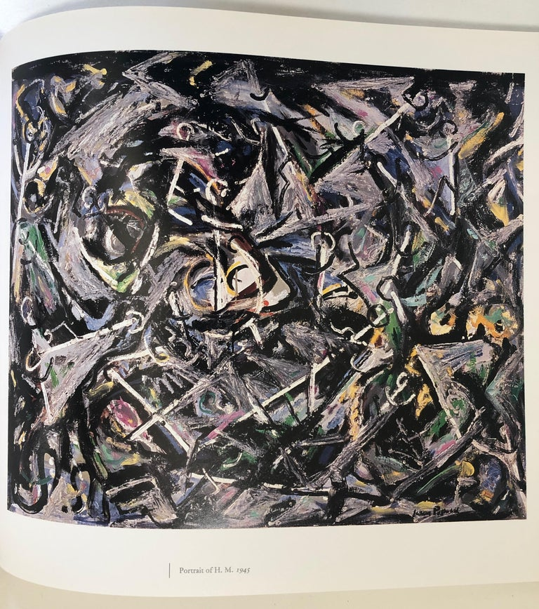 Late 20th Century Jackson Pollock First Edition, 1989 For Sale