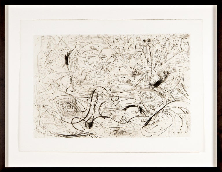 Untitled - Print by Jackson Pollock